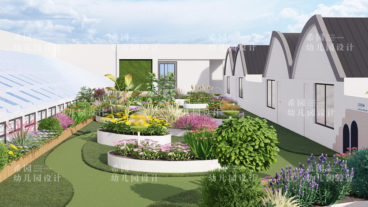 幼儿园设计之屋顶花园