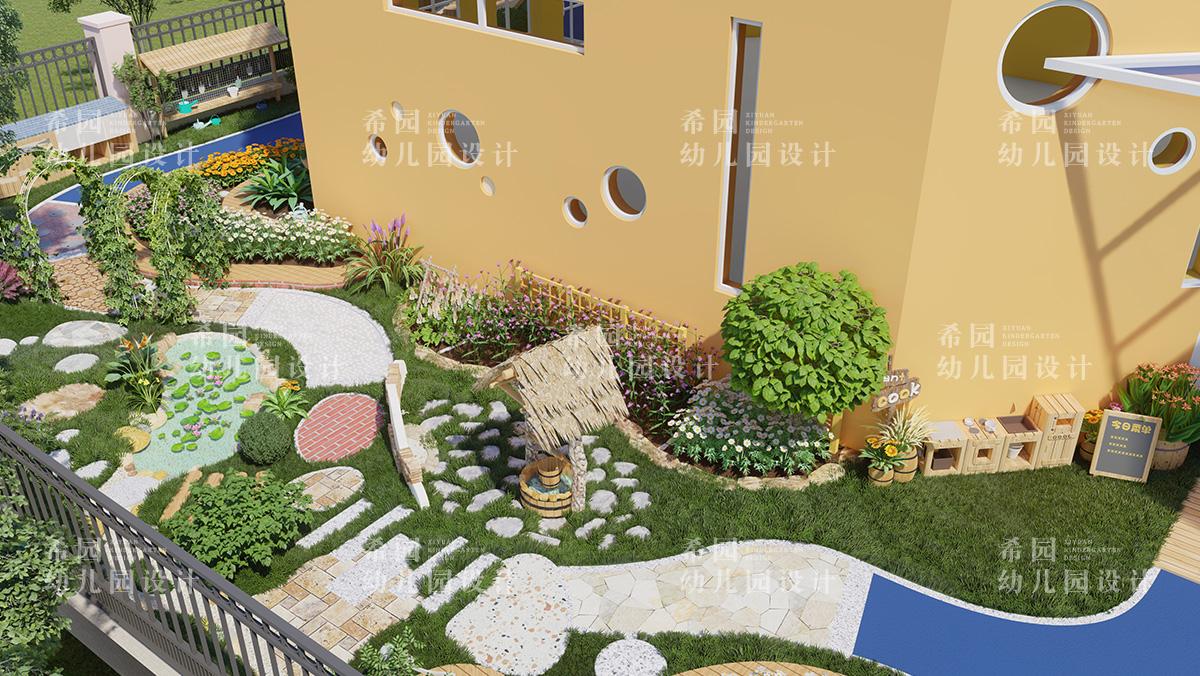 幼儿园主题种植园三大设计要点
