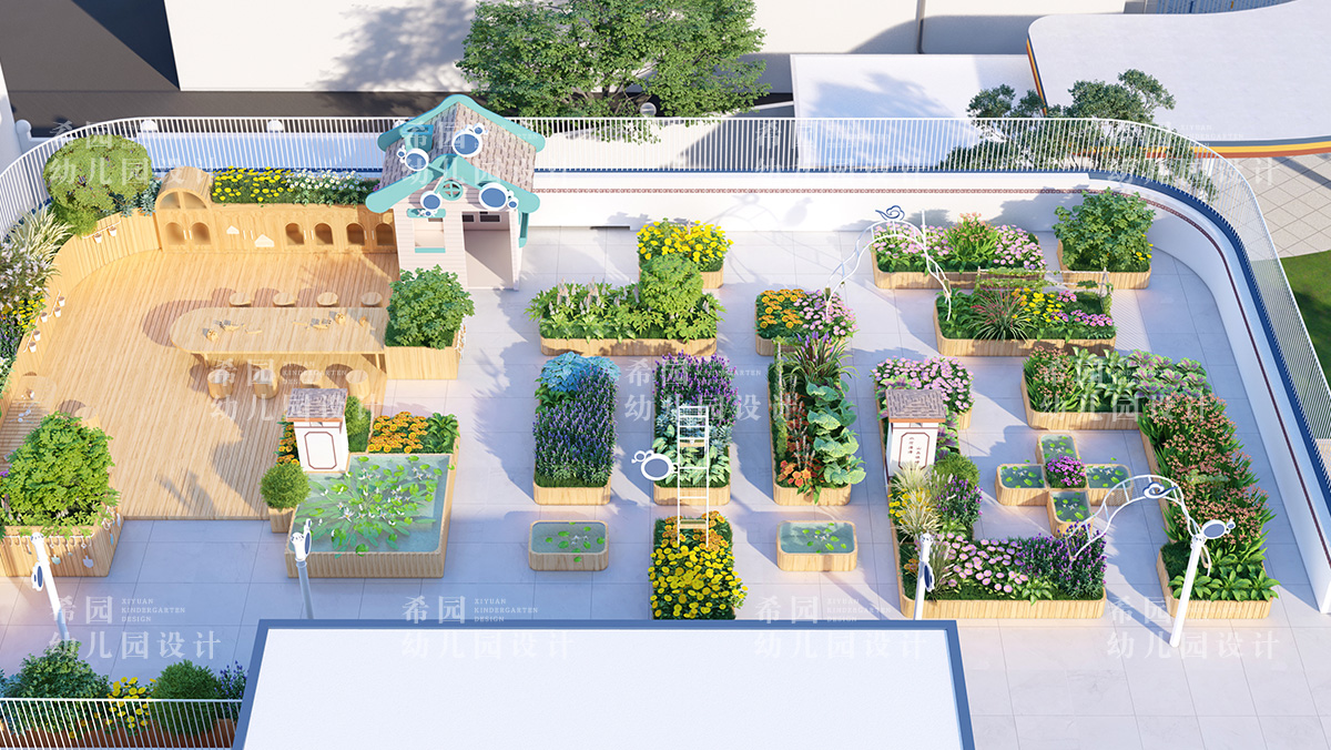 幼儿园屋顶花园创设小技巧