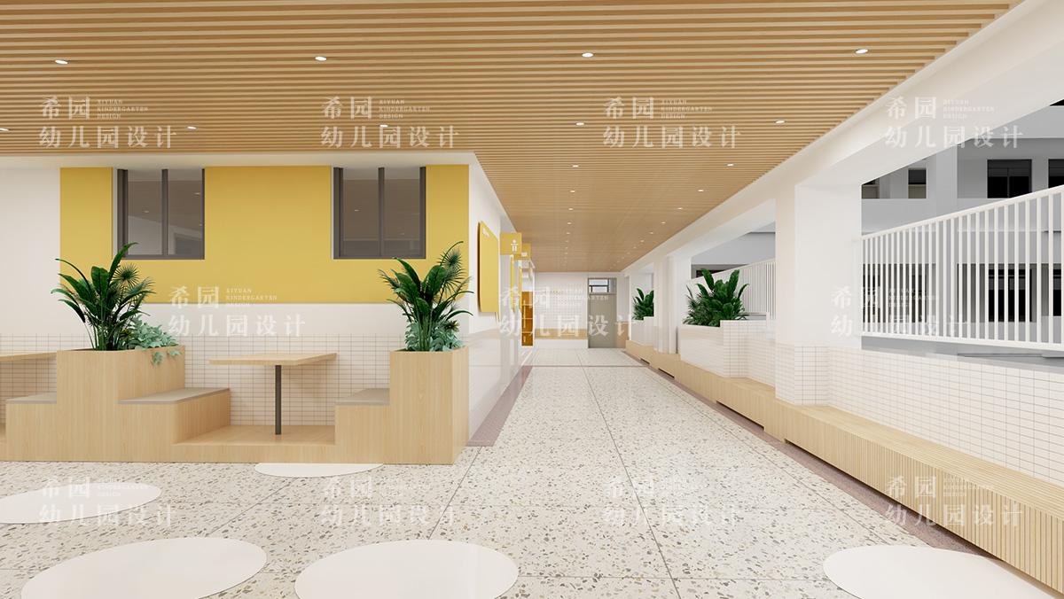 小学走廊如何设计