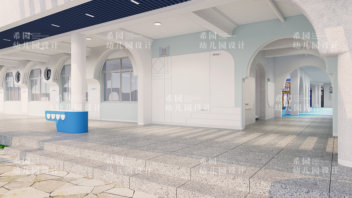 幼儿园门厅设计三大原则