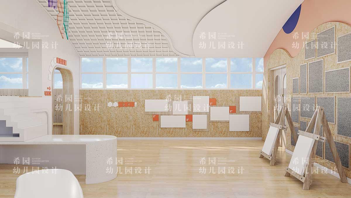 如何打造幼儿园美劳室