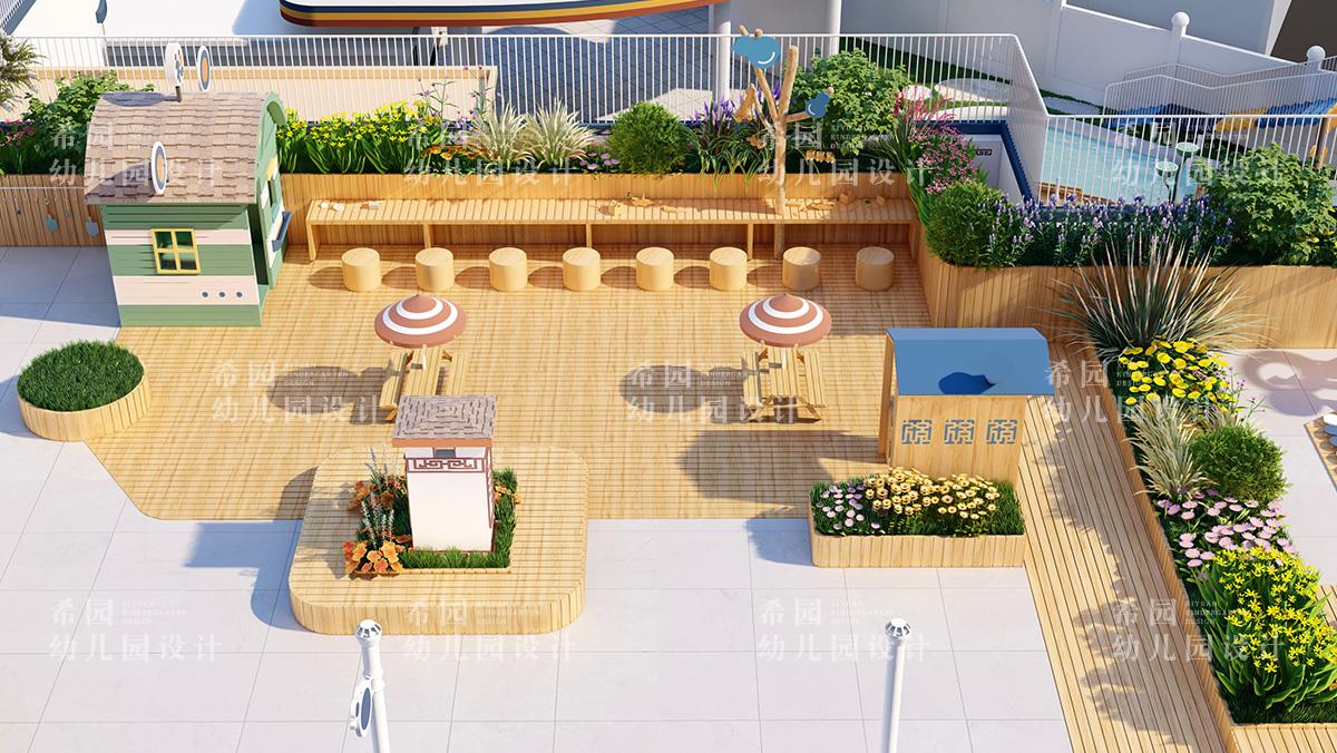 幼儿园设计之如何利用屋顶空间