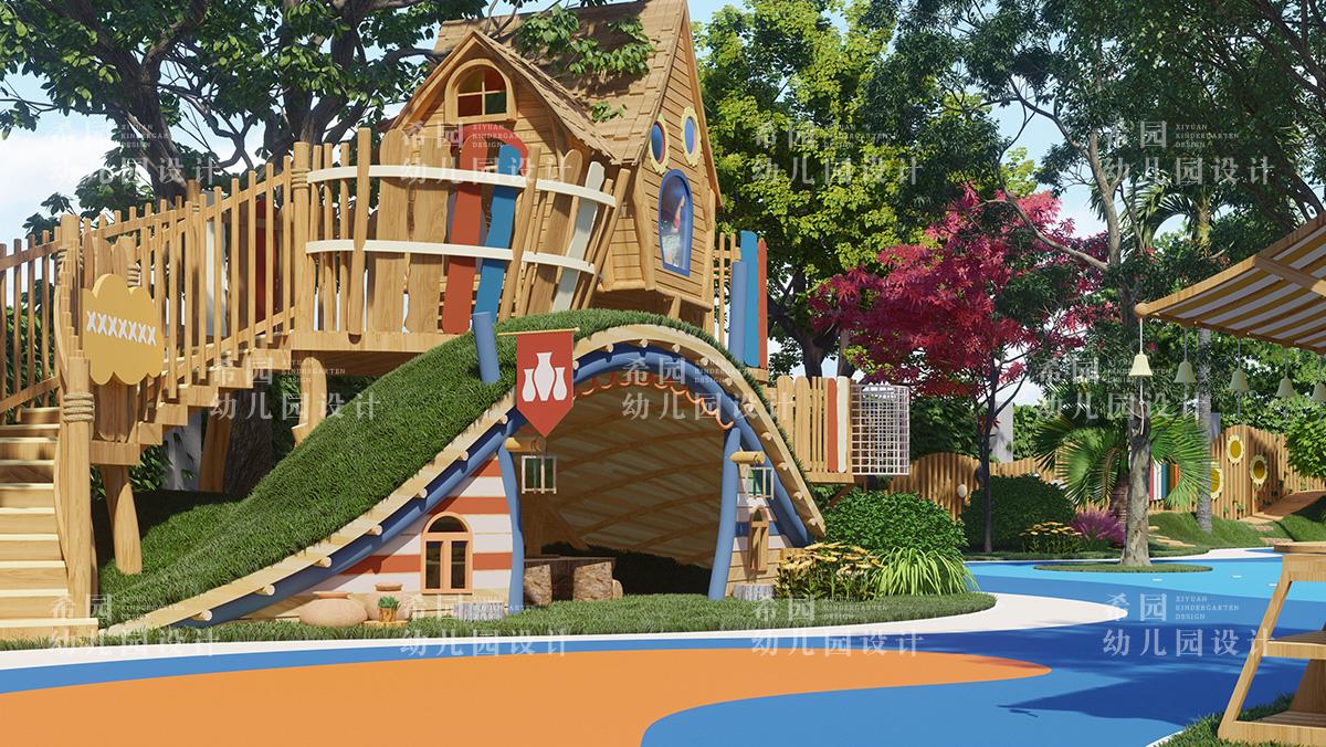 如何设计童趣感的幼儿园环境