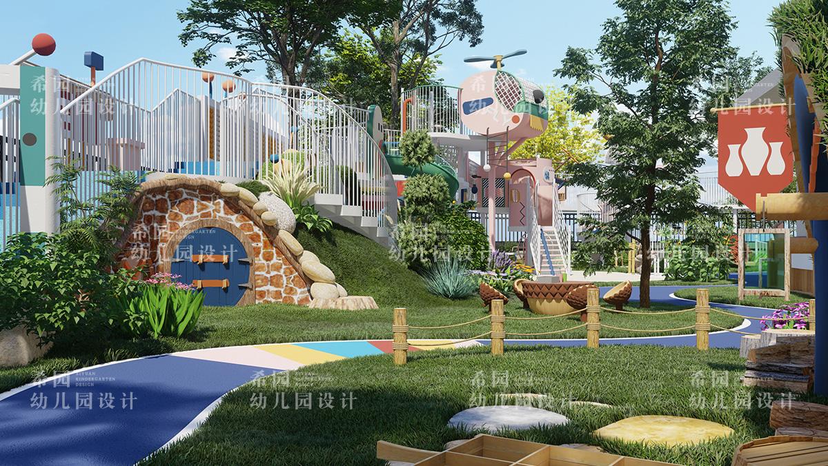 幼儿园环境设计追求四大要素