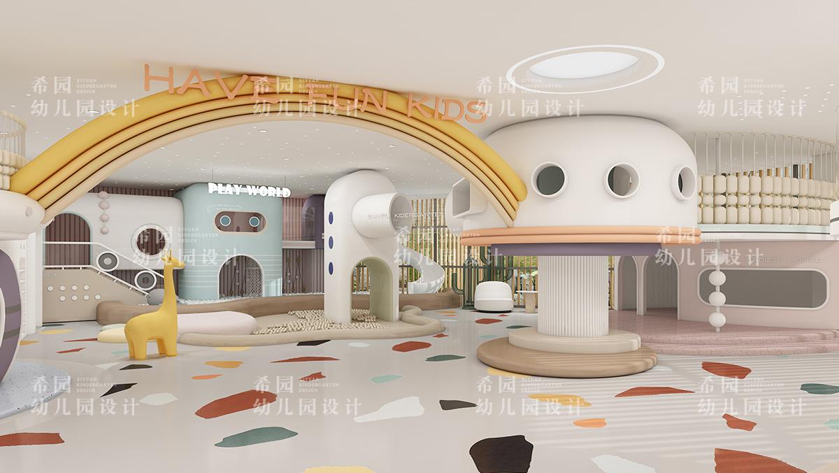托育中心设计如何打造有爱的空间