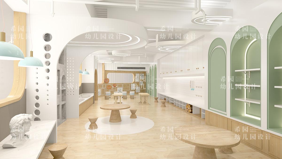 小型空间如何设计亲子早教中心
